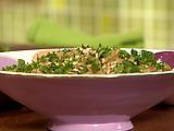 Babganoush-Hummus Pasta