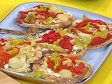 Hummus Pit-zas