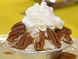 Mini Pecan Ice Cream Pies