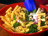 Broccoli Rabe and Salami Pasta