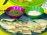Grilled Green Chili Quesadillas