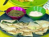 Grilled Green Chili Quesadillas