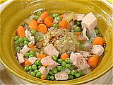 Turkey and Stuffin' Soup