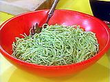 Cilantro Pesto Pasta