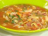 BLT and P (Bacon, Leek, Tomato and Potato) Soup