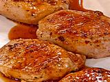 Pork Chops with Golden Apple Sauce