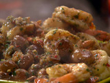 Shrimp and 'Shrooms with Sherry