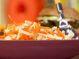 Jicama, Carrot Orange-Chipotle Slaw