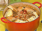 Rustic Meat and Bean Pot
