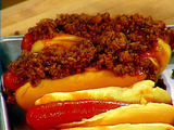 Devilish Chili-Cheese Dogs