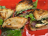 Great Grilled Vegetable Sandwich