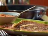 Roman-esco (Italian Romesco) with Red Snapper