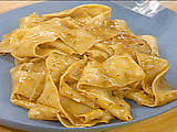 Chicken Marvalasala and Pappardelle with Rosemary Gravy