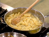 Bacon and Egg Coal Miner's Pasta: Rigatoni alla Carbonara