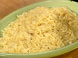 Cheesy Orzo