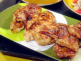 Honey Mustard and Red Onion Barbecued Chicken