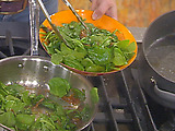 Glazed Spinach Salad
