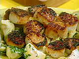Sea Scallops with Vermouth