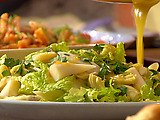 Hearts of Romaine, Palm and Artichoke with Citrus Dijon Dressing