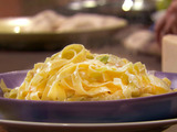 Egg Pasta with Leeks