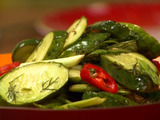 Asian Hot-Sweet Pickle Salad