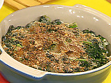 Kale Gratin with Pancetta