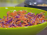 Toasted Hazelnut and Shredded Carrot Salad