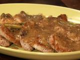 Pork Medallions with Charcuterie Sauce
