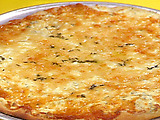 Garlic and Herb Three Cheese Pizza