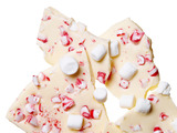 Peppermint-Mini Marshmallow Bark
