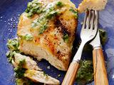 Sauteed Chicken Breasts with Fresh Herbs and Ginger: Low Carb