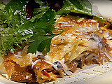 Wild Mushroom and Pecorino Lasagna