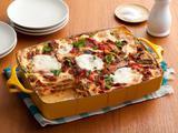 Sausage and Mixed Mushroom Lasagna