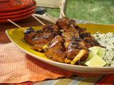 Grilled Tandoori-Style Lamb Skewers