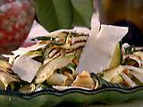 Grilled Zucchini Ribbon Salad