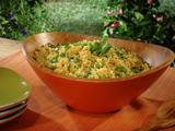 Saffron-Pea Basmati Rice Salad