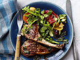 Grilled Lamb Chops With Mint
