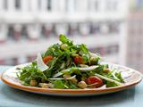 Wild Arugula and Chickpea Salad