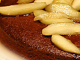Ginger Spice Cake with Sauteed Apples
