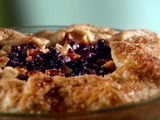 Simple Blueberry Apple Pie