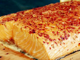 Cedar Plank Salmon with Potlatch Seasoning