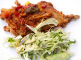 Spicy Pork Ribs with Tangy Slaw