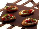 Mock Mascarpone Crostini