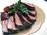 Steak Carrera with Gorgonzola Sauce