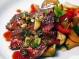The Last 'Stagon (Grilled Flank Steak) with Ying Yang Vegetables