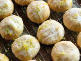 Coconut Lime Butter Cookies