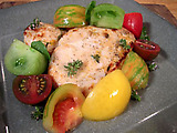 Lemon-Thyme Chicken with Heirloom Tomato Salad