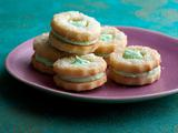 Delicate Mint Sandwich Holiday Cookies