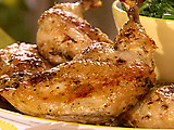 Lemon-Herb Butter-Basted Chicken