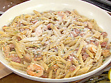 Jambalaya Pasta with Penne, Chicken, Shrimp and Andouille